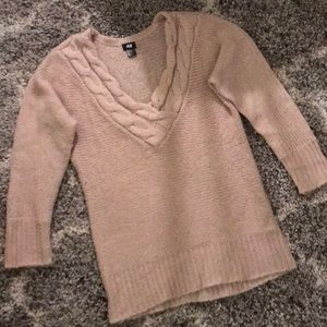 H&M Blush Pink Sweater